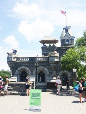 "Fun Fact: Belvedere Castle was originally built as a Victorian ""folly"" (i.e. a decorative building) but was turned into a weather center!"