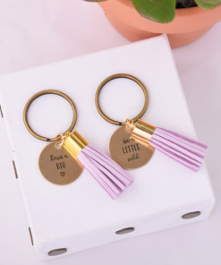Double-Tassel-Keychain-Lavender-have-a-big-heart