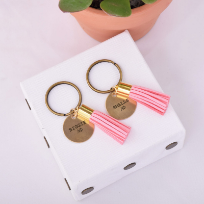 Double-Tassel-Keychain-Rose-biggie-smalls