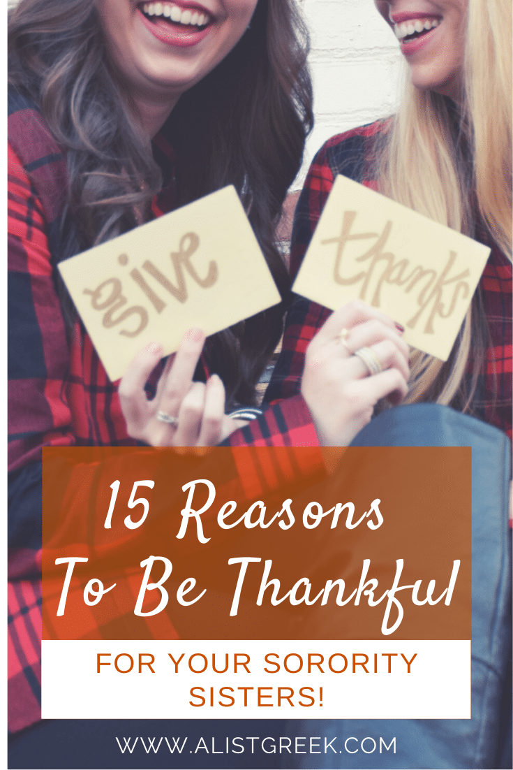 15 Reasons to Be thankful blog feature image