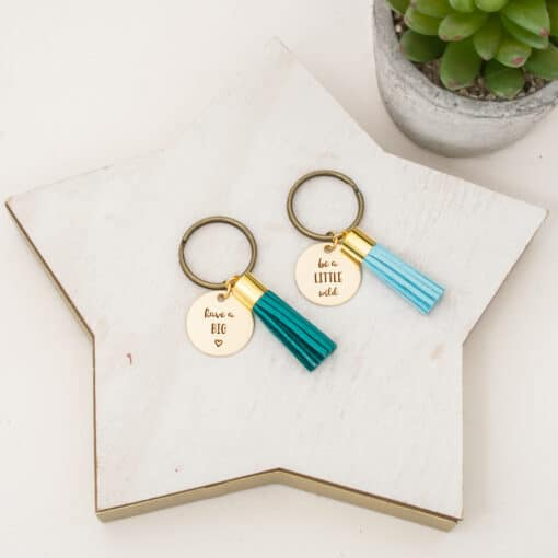 have-a-big-heart-be-a-little-wild-new-engraved-tassel-keychain-blank-51