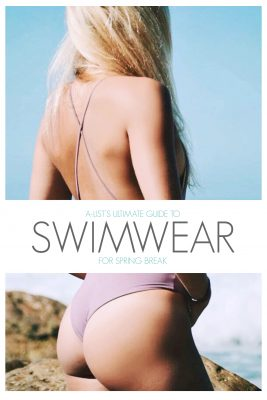 Swimwear for Spring Break