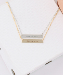 dance-mom-courier-bar-necklaces-gold-silver