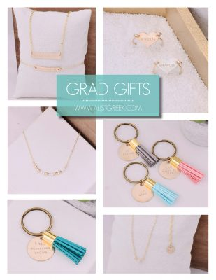 Sorority Grad Gift Group Order Ideas