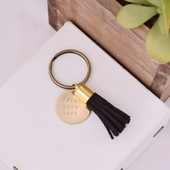 Sorority Motto Keychain by www.alistgreek.com