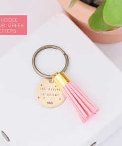 the-future-is-bright-tassel-keychain-kappa-alpha-theta