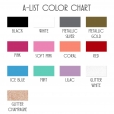 A-List-Decal-Color-Chart