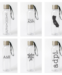 Alpha Delta Pi Water Bottles from www.alistgreek.com