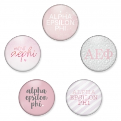 Alpha Epsilon Phi Button Set by www.alistgreek.com