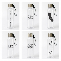 Alpha Gamma Delta Water Bottles from www.alistgreek.com