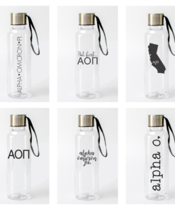 Alpha-Omicron-Pi-Water-Bottle-Collage