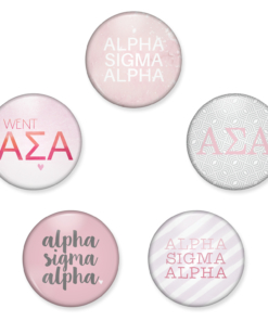 Alpha Sigma Alpha Buttons from www.alistgreek.com