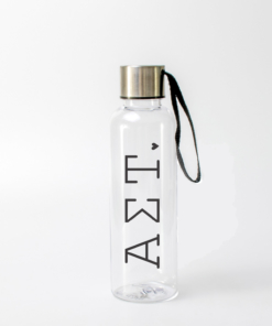 Alpha Sigma Tau Typewriter Water Bottles from www.alistgreek.com