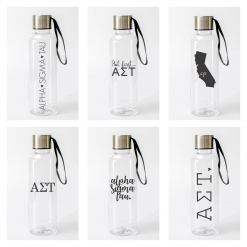 Alpha Sigma Tau Water Bottles from www.alistgreek.com