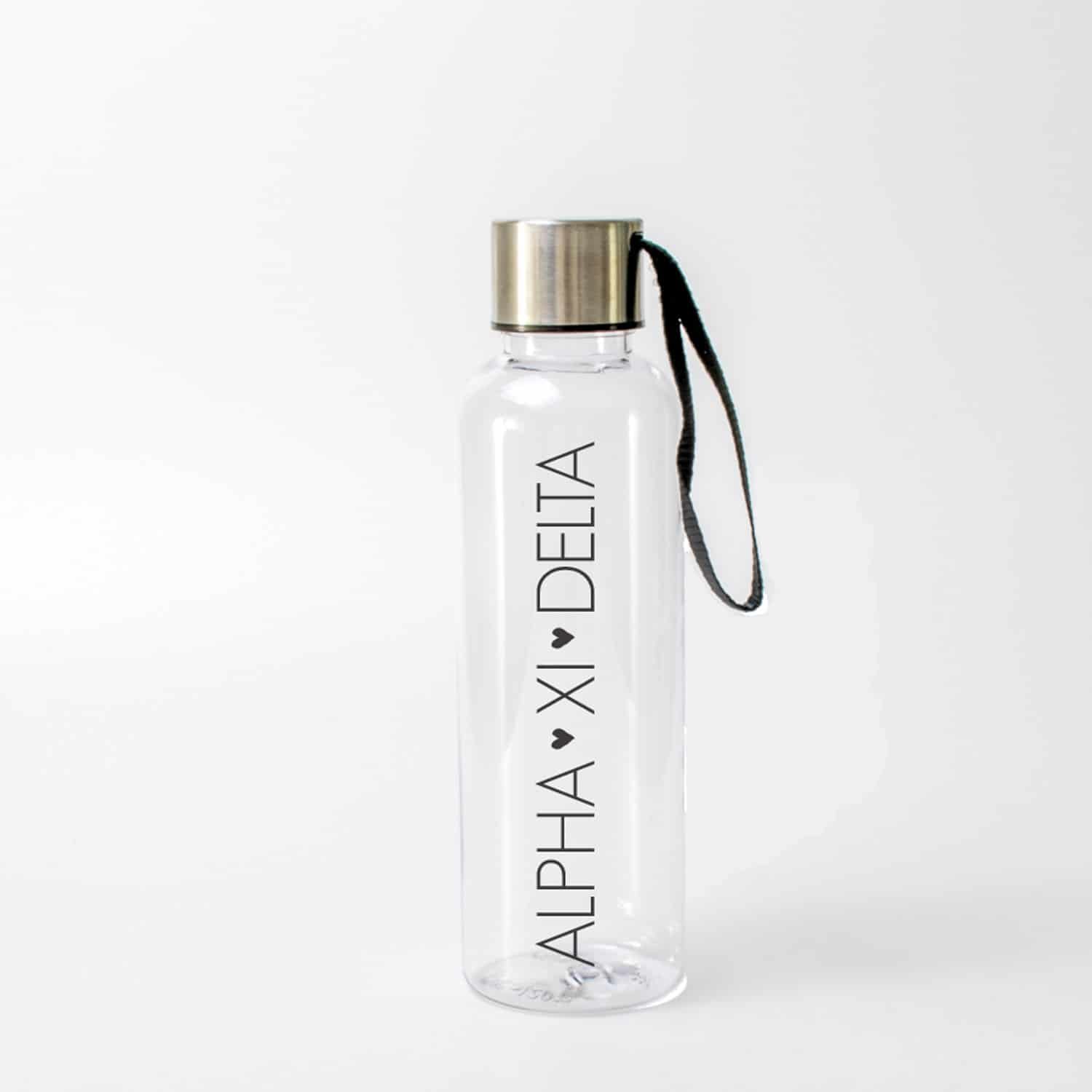 Alpha Xi Delta Water Bottle A List Greek Designs