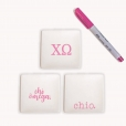 Chi Omega Jewelry Tray Set from www.alistgreek.com