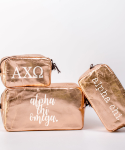 Alpha Chi Omega Cosmetic Bag Set from www.alistgreek.com