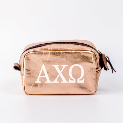 Alpha Chi Omega Small Cosmetic Bag from www.alistgreek.com