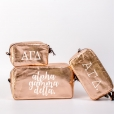 Alpha Gamma Delta Cosmetic Bag Set from www.alistgreek.com
