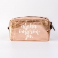 Cosmetic-Bags-Rose-Gold-Alpha-Omicron-Pi-Large-White