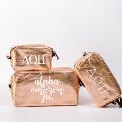 Alpha Omicron Pi Cosmetic Bag Set from www.alistgreek.com