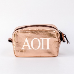 Alpha Omicron Pi Small Cosmetic Bag from www.alistgreek.com