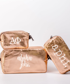 Sorority Cosmetic Bags