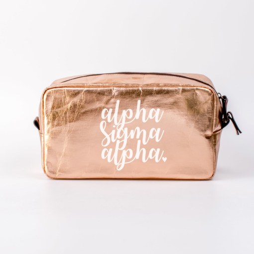Alpha Sigma Alpha Large Cosmetic Bag from www.alistgreek.com