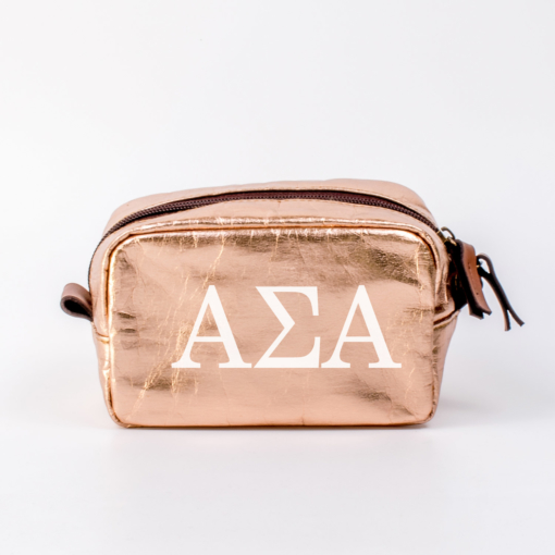 Alpha Sigma Alpha Small Cosmetic Bag from www.alistgreek.com