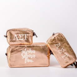 Alpha Sigma Tau Cosmetic Bag Set from www.alistgreek.com