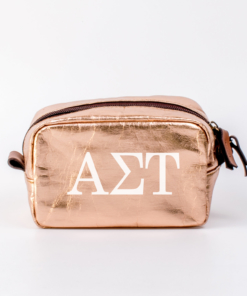 Alpha Sigma Tau Small Cosmetic Bag from www.alistgreek.com