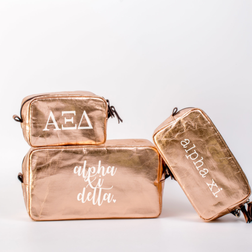 Alpha Xi Delta Cosmetic Bag Set from www.alistgreek.com