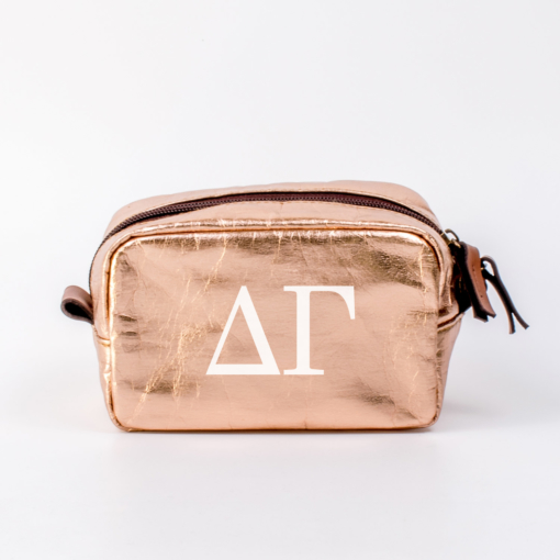 Delta Gamma Small Cosmetic Bag from www.alistgreek.com