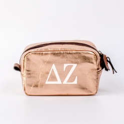 Delta Zeta Small Cosmetic Bag from www.alistgreek.com