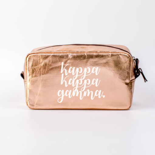 Kappa Kappa Gamma Large Cosmetic Bag from www.alistgreek.com