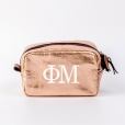 Cosmetic-Bags-Rose-Gold-Phi-Mu-Small-White
