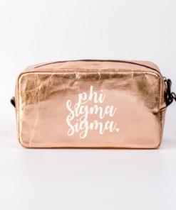 Phi Sigma Sigma Large Cosmetic Bag from www.alistgreek.com