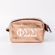 Cosmetic-Bags-Rose-Gold-Phi-Sigma-Sigma-Small-White