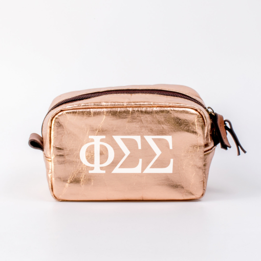 Phi Sigma Sigma Small Cosmetic Bag from www.alistgreek.com