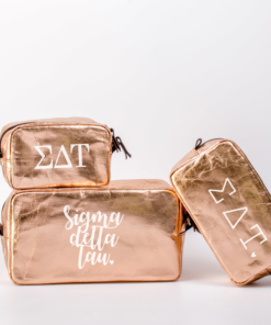 Sigma Delta Tau Cosmetic Bag Set from www.alistgreek.com