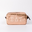 Cosmetic-Bags-Rose-Gold-Sigma-Delta-Tau-Medium-White