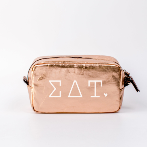 Sigma Delta Tau Medium Cosmetic Bag from www.alistgreek.com