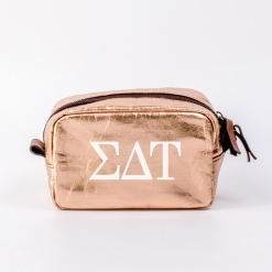 Sigma Delta Tau Small Cosmetic Bag from www.alistgreek.com