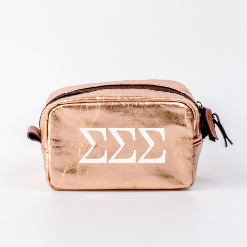 Sigma Sigma Sigma Small Cosmetic Bag from www.alistgreek.com
