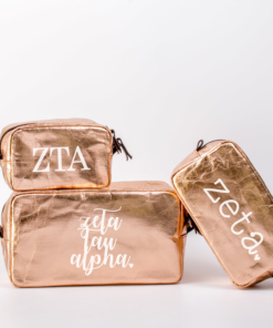 Zeta Tau Alpha Cosmetic Bag Set from www.alistgreek.com