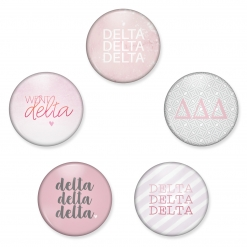 Delta Delta Delta Buttons from www.alistgreek.com