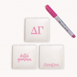 Delta Gamma Jewelry Tray Set from www.alistgreek.com