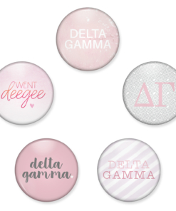 Delta Gamma Buttons from www.alistgreek.com