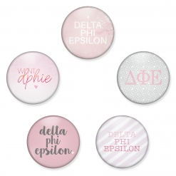 Delta Phi Epsilon Buttons from www.alistgreek.com