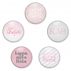 Kappa Alpha Theta Buttons from www.alistgreek.com